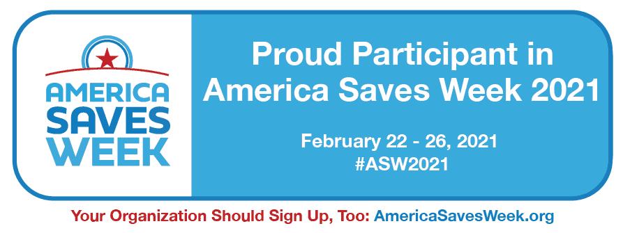 America Saves 2021 Badge