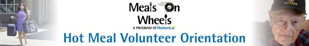 Horizons Volunteer Orientation