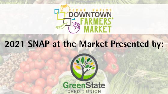 SNAP at the Market 2021 Sponsor